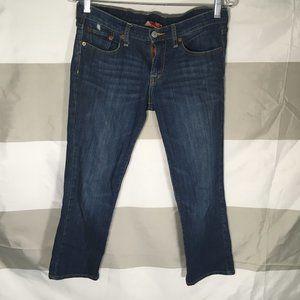 Lucky Brand Size 2/26 Crop WOMENS Jeans Dark Wash